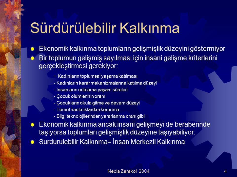 Necla Zarakol 200415 Özel sektörün kazancı  İtibar kazanıyor; itibarlı bir kurumun hisseleri daha değerli ve istikrarlı oluyor.