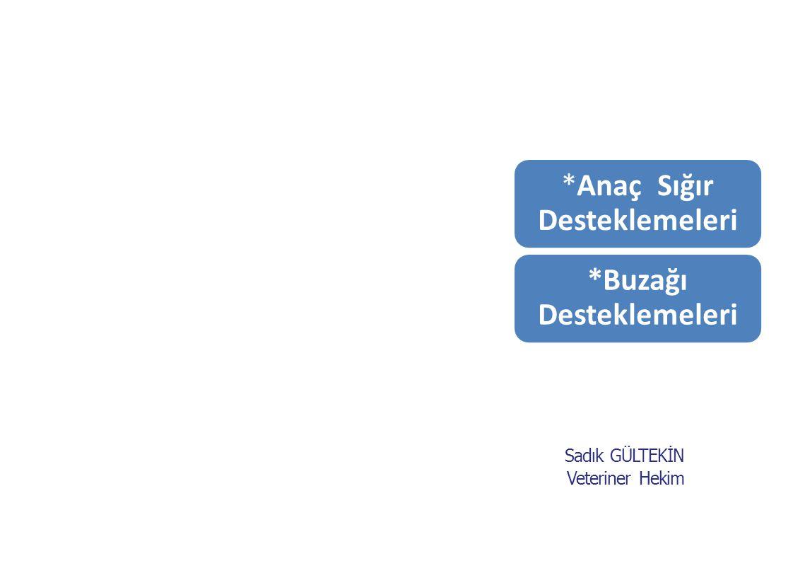 DESTEKLEME MEVZUATI 2011 Yılı Desteklemeleri Aşağıdaki Mevzuat Doğrultusunda Yapılmaktadır; BAKANLAR KURULU KARARI (KARARNAME) 24.02.2011 tarihli ve 27856 sayılı Resmi Gazetede yayımlanan 2011 Yılında Yapılacak Tarımsal Desteklemelere İlişkin Karar , Karar no: 2011/1430 TEBLİĞ 06.05.2011 tarihli ve 27926 sayılı Resmi Gazetede yayımlanan Hayvancılık Desteklemeleri Hakkında Uygulama Esasları Tebliği , Tebliğ no: 2011/26 TALİMAT 09.09.2011 tarihli ve 0670-843 sayılı HAYGEM yazısı.