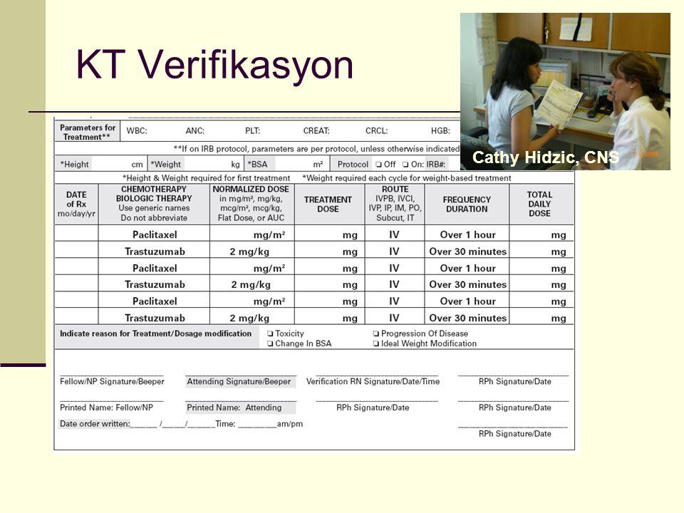 KT Verifikasyon Cathy Hidzic, CNS