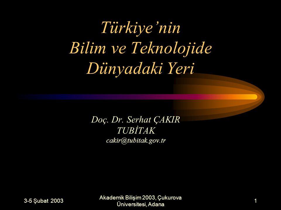2 İÇERİK BİLİM TEKNOLOJİ GÖSTERGELERİ –AR-GE Harcamaları –AR-GE İnsan Gücü –Patentler Türkiye Kaynaklı Yayınlar –Kaynak –AB ve Türkiye –Bölgesel Dağılım –Bilim Gruplarına Göre Dağılım –Üniversiteler TÜBİTAK Bilgi Pınarı