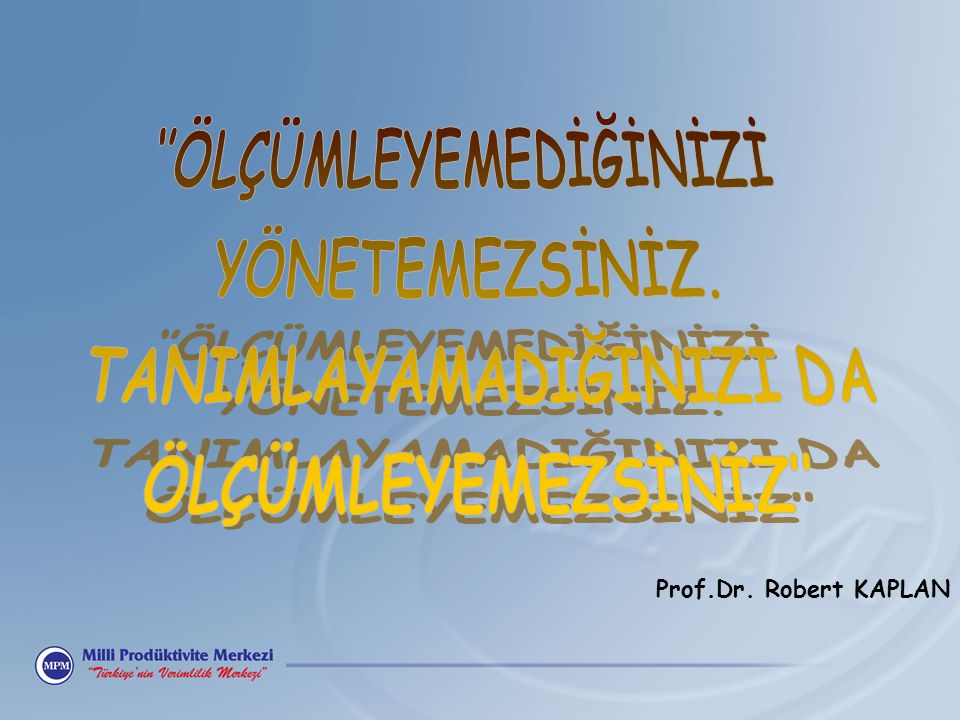 Prof.Dr. Robert KAPLAN