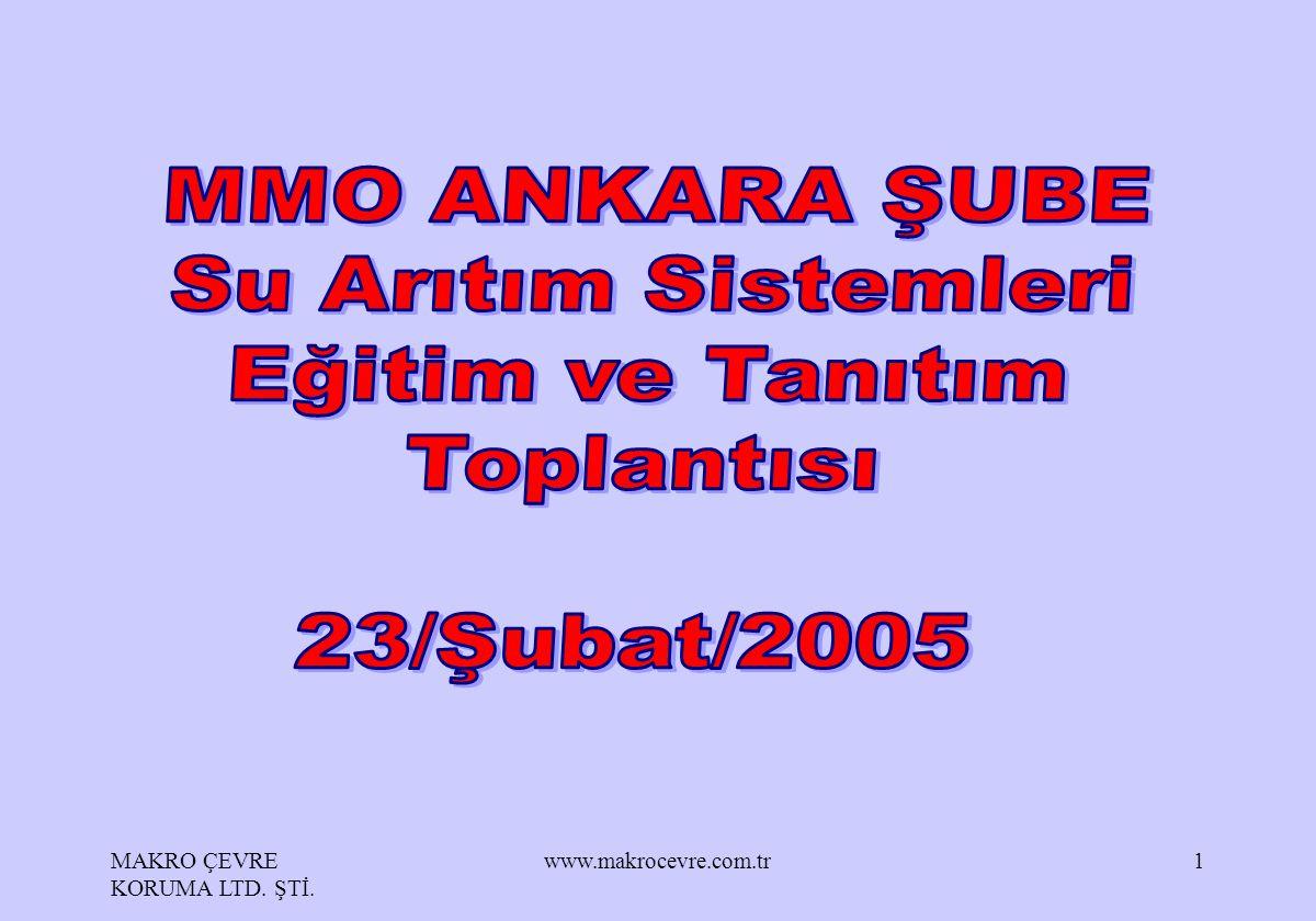 MAKRO ÇEVRE KORUMA LTD. ŞTİ. www.makrocevre.com.tr1