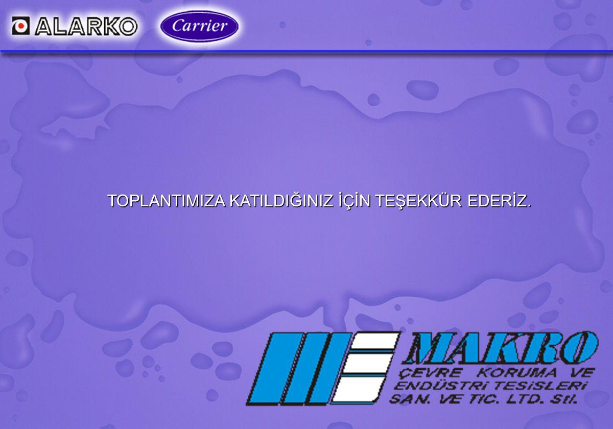 MAKRO ÇEVRE KORUMA LTD. ŞTİ. www.makrocevre.com.tr31 TOPLANTIMIZA KATILDIĞINIZ İÇİN TEŞEKKÜR EDERİZ.