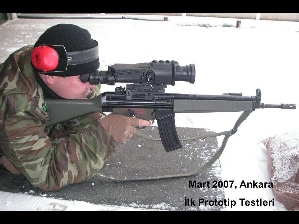33 TASNİF DIŞI Mart 2007, Ankara İlk Prototip Testleri