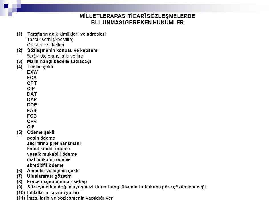 ULUSLARARASI TİCARETE İLİŞKİN ÖNEMLİ DAVALAR Motorola v.
