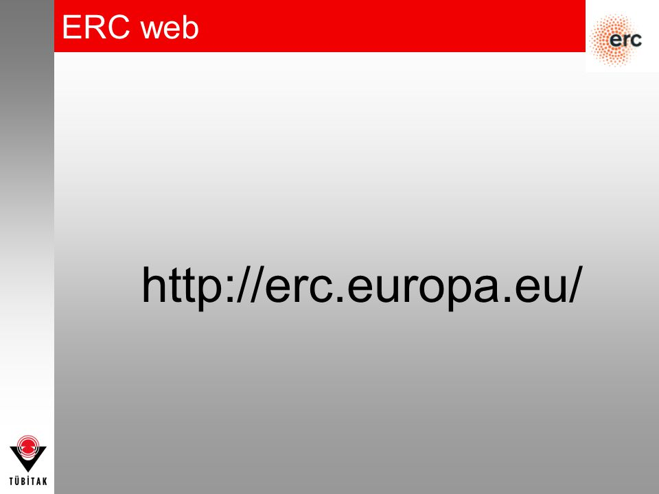 ERC web http://erc.europa.eu/