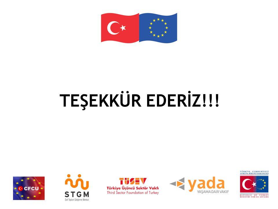TEŞEKKÜR EDERİZ!!!