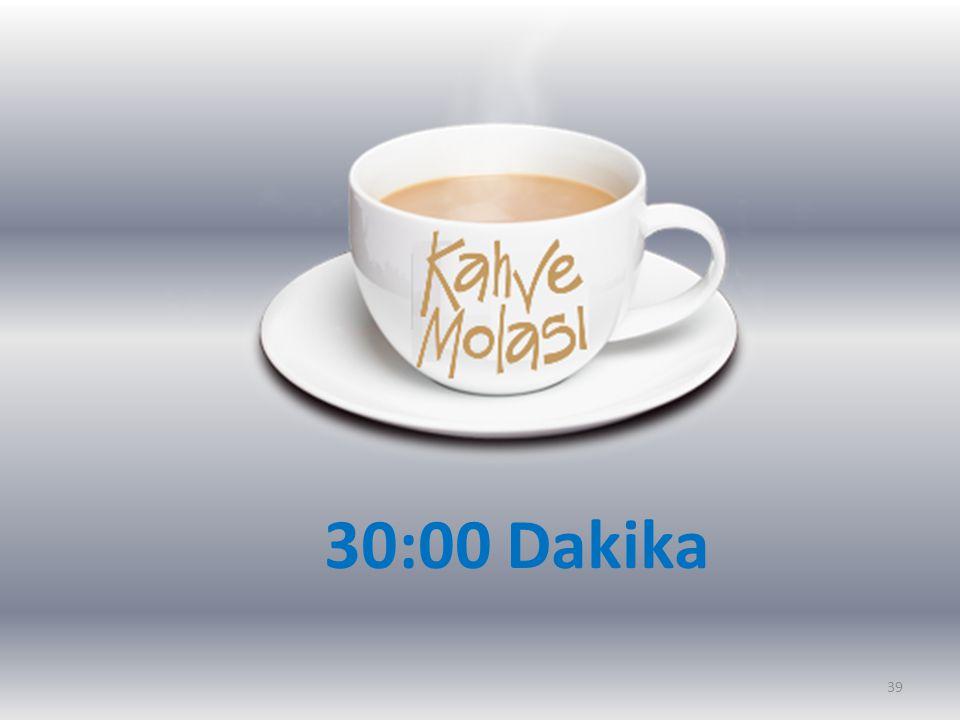 30:00 Dakika 39