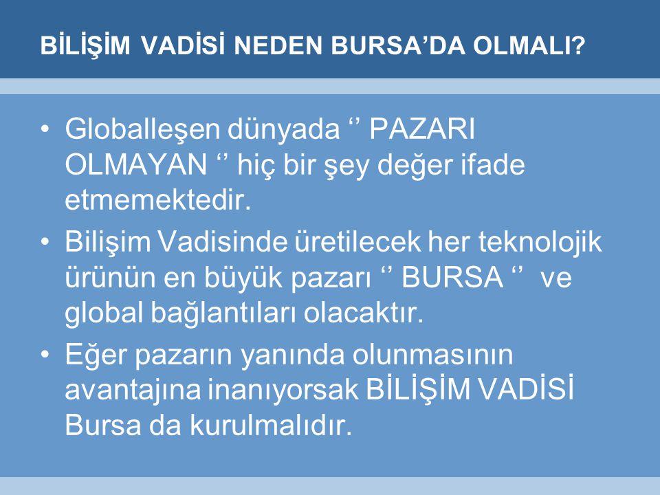 BİLİŞİM VADİSİ NEDEN BURSA'DA OLMALI.