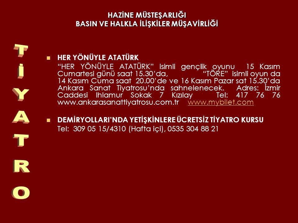 HAZİNE MÜSTEŞARLIĞI BASIN VE HALKLA İLİŞKİLER MÜŞAVİRLİĞİ FOSFORLU CEVRİYE AKÜN SAHNESİ NDE Ankara Devlet Tiyatrosu nun bu sezon ilk kez sahneleyeceği, Suat Derviş in yazdığı, Gülriz Sururi nin uyarlayıp yönettiği Fosforlu Cevriye müzikali, 11 Kasım Salı günü Akün Sahnesi nde prömiyer yapacak.