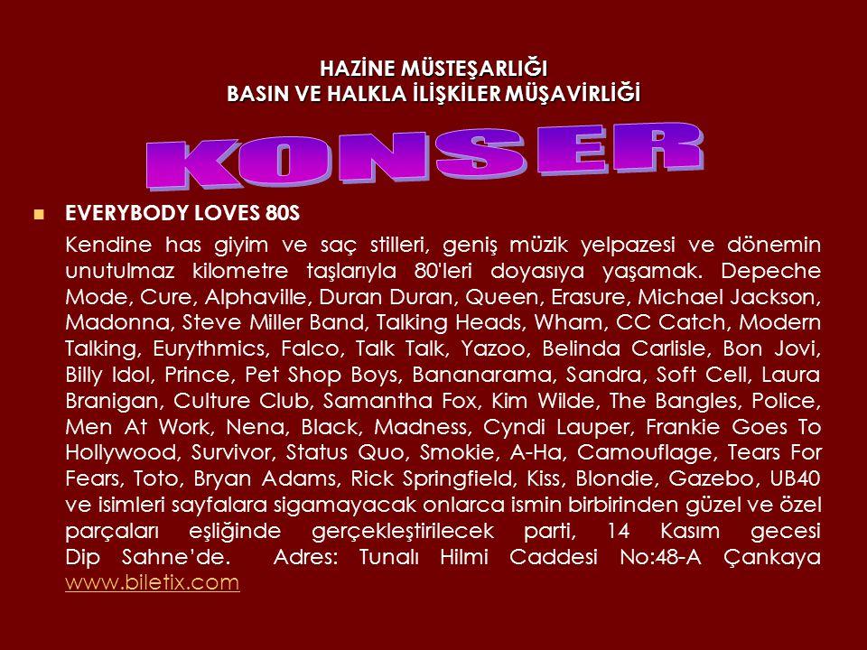 HAZİNE MÜSTEŞARLIĞI BASIN VE HALKLA İLİŞKİLER MÜŞAVİRLİĞİ YENİ TÜRKÜ 1979 yılında Derya Köroğlu önderliğinde kurulan, kendine özgü müzik anlayışıyla 30 senedir sayısız şarkısını hafızalara kazımış olan Yeni Türkü Grubu, 14 Kasım gecesi Balgat Semtinde bulunan Anadolu Gösteri ve Konre Merkezi'nde sahne alacak.