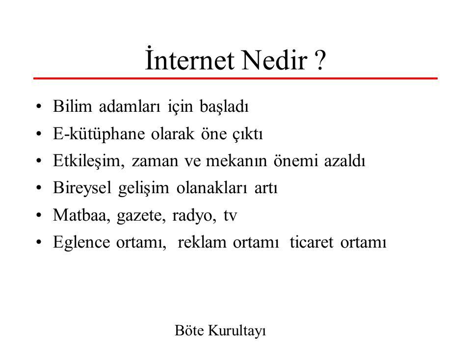 5 İnterneti Nasıl Algılamalı.
