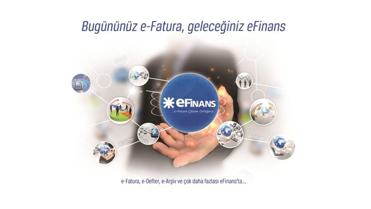 eFinans e-Fatura sistemi ile firma faturalarının mükellef firmalara elektronik ortamda gönderimi eFinans e-Arşiv sistemi ile oluşturulan tüm faturaların arşivlenmesi e-Fatura ve e-Arşiv sistemlerinin entegre edilmesi e-Arşiv / e-Fatura Entegrasyonu – B2B