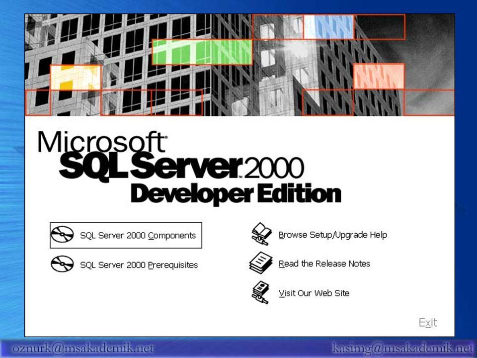 39 SQL Server Bölümü Yazı Dizileri Microsoft Akademik Sitesi