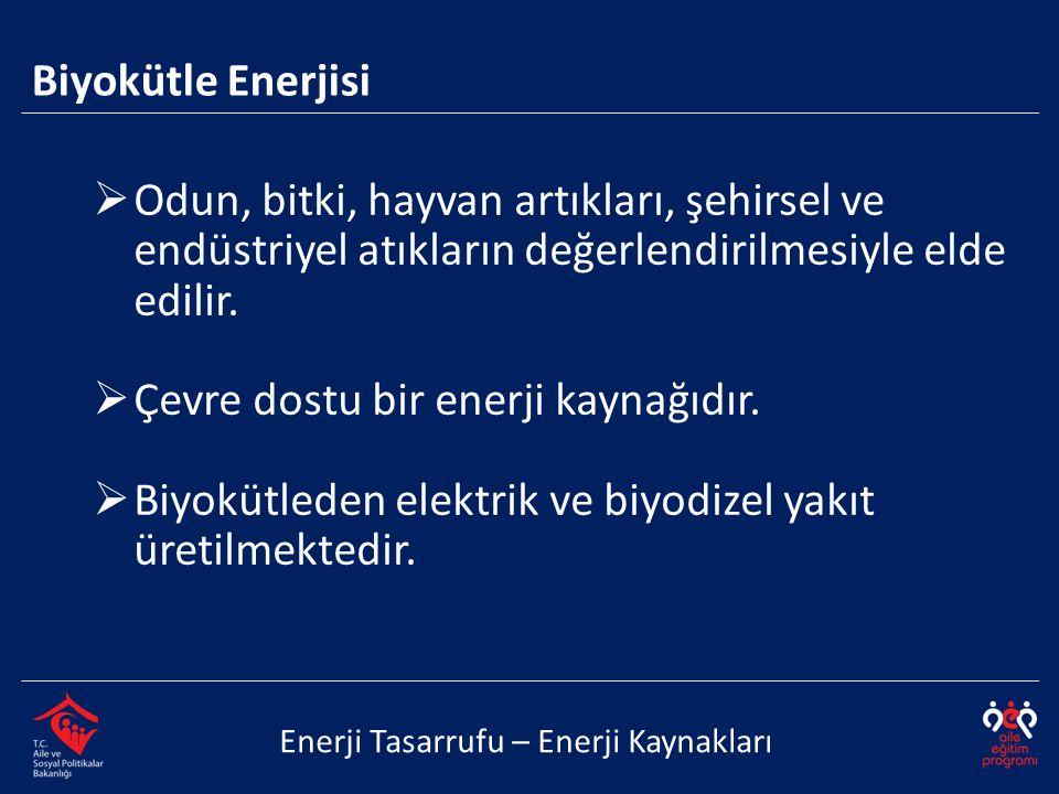  Su gücüyle elde edilen elektrik enerjisidir. Kirlilik yaratmaz.