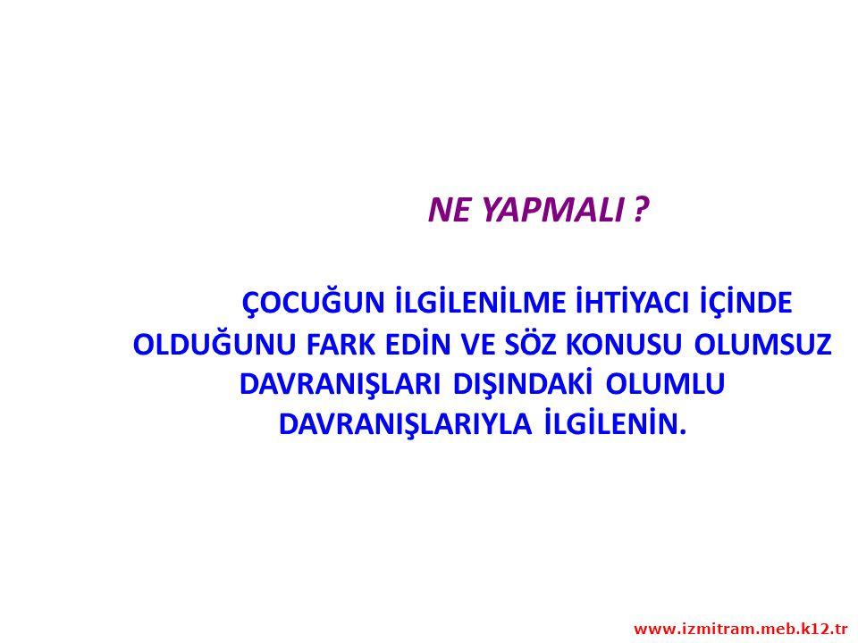 4. BASAMAK PROBLEMİN TÜM ÇÖZÜM YOLLARINI BELİRLEYİN www.izmitram.meb.k12.tr