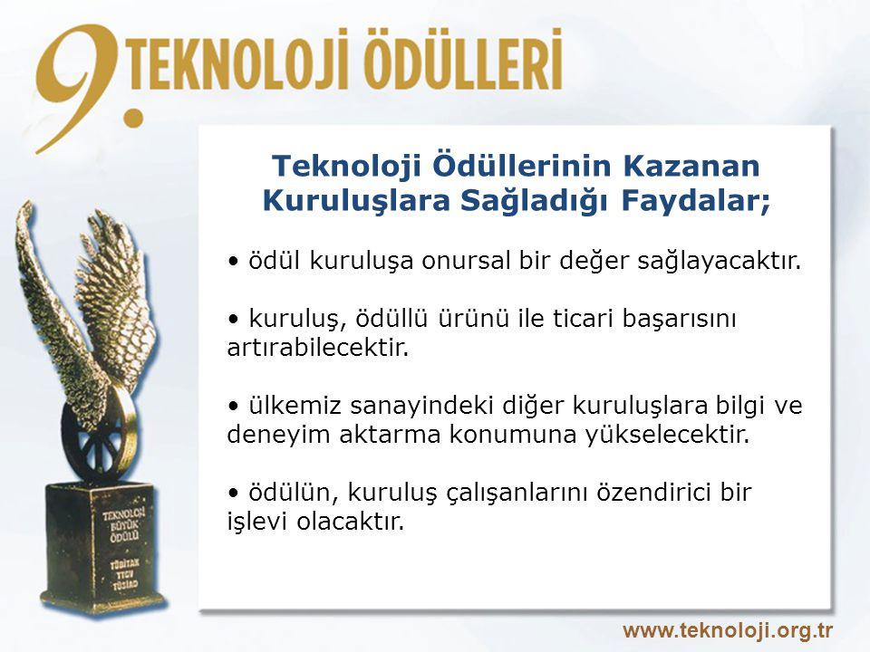 Teknoloji Ödüllerinin Kazanan Kuruluşlara Sağladığı Faydalar; ödül kuruluşa onursal bir değer sağlayacaktır.