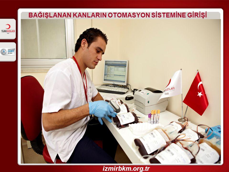 BAĞIŞLANAN KANLARIN KAN GRUPLARININ BELİRLENMESİ izmirbkm.org.tr