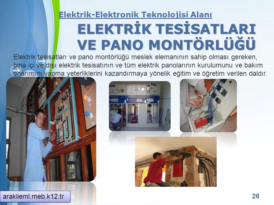 Powerpoint Templates 25 Elektrik-Elektronik Teknolojisi araklieml.meb.k12.tr