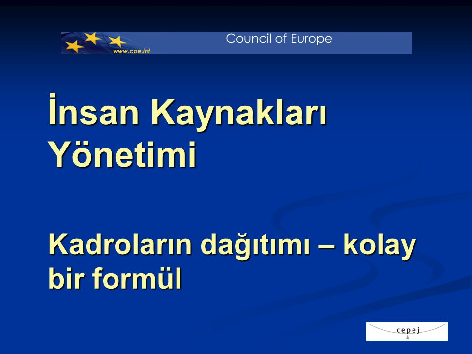CEPEJ göstergeleri –TK II'ye uygulanmış 1.mahkeme 2.