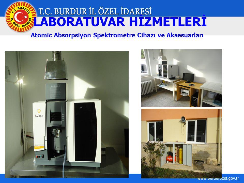 LABORATUVAR HİZMETLERİ Atomic Absorpsiyon Spektrometre Cihazı ve Aksesuarları