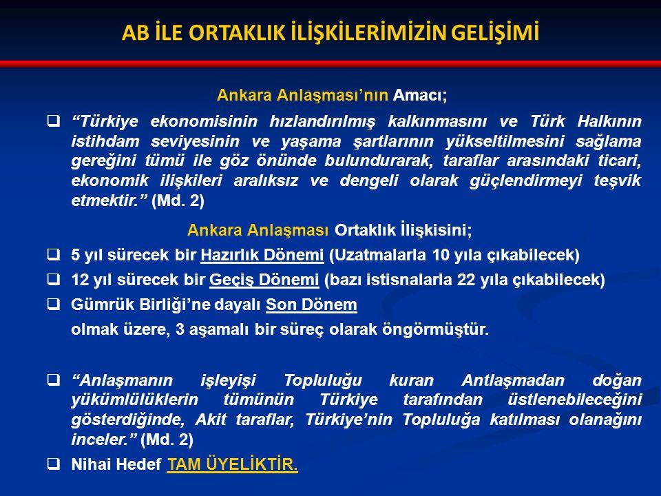 TÜRKİYE-AB GÜMRÜK BİRLİĞİ DANIŞMA VE KARAR ALMA MEKANİZMALARI  1/95 sayılı OKK ile danışma ve karar alma mekanizmaları bağlamında;  Avrupa Komisyonunca Gümrük Birliği'nin işleyişi ile doğrudan ilgili alanlarda yeni bir mevzuat hazırlandığında ve bu mevzuat hakkında üye devletlerin uzmanlarına danışıldığında, gayriresmi olarak Türk uzmanlarına da danışılması,  Avrupa Komisyonu'nun, söz konusu mevzuatla ilgili önerisini AB Konseyi'ne sunarken Türkiye ye de örneklerini göndermesi,  Konseyin kararından önceki dönemde, Tarafların, herhangi birinin talebi üzerine, Gümrük Birliği Ortak Komitesi bünyesinde danışma toplantıları yapılması,  Avrupa Komisyonu'na yetkisini kullanmada yardımcı olan teknik komitelerin çalışmalarına Türk uzmanların da katılımının sağlanması öngörülmüştür.