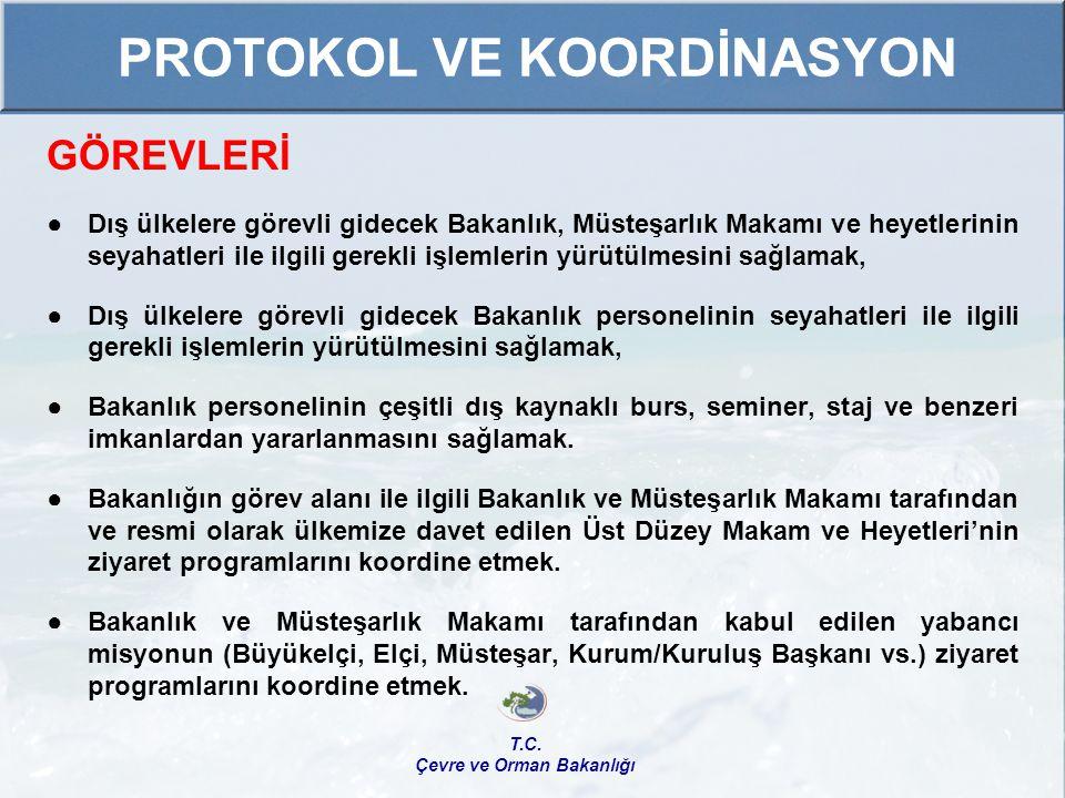 FAALİYETLERİ ● GEF Bölgesel Tanıtım Toplantıları Bilgilendirme ve Önceliklendirme Çalıştayları 1) Adana Çalıştayı, 20-22 Ekim 2009 2) Şanlıurfa Çalıştayı, 02-04 Şubat 2010 3) Trabzon Çalıştayı, 16-18 Mart 2010 ● Hizmet İçi Eğitim 1) Küresel Çevre Fonu (GEF), Ankara, 23 Haziran 2009 2) GEF Tanıtımı ve Proje Eğitimi, Antalya 5-9 Nisan 2010 T.C.