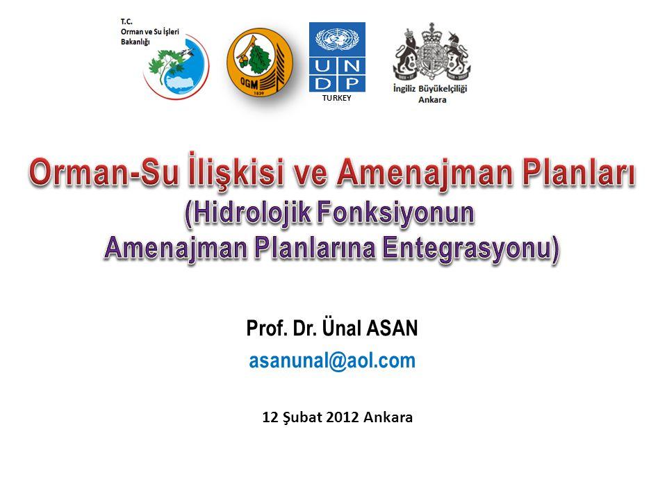 12 Şubat 2012 Ankara İÇERİK SOİ kavramı ile PAN-AVRUPA daki K&G Amenajman planı ve ETFOP tanımları Projenin Uluslarası Dayanakları Orman Fonksiyonları, Hidrolojik Döngü ve Orman-Su İlişkileri Çölleşme nedenleri ve mücadele yolları ETFOP ve Hidroloji konusunda sözlük hazırlamanın gerekçeleri