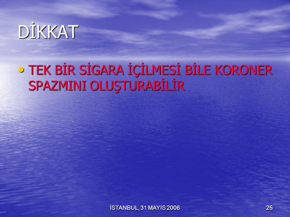 İSTANBUL, 31 MAYIS 200624 YAŞ: 28