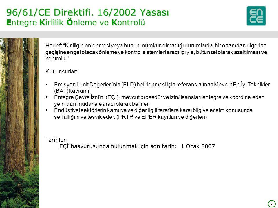 5 96/61/CE Direktifi.