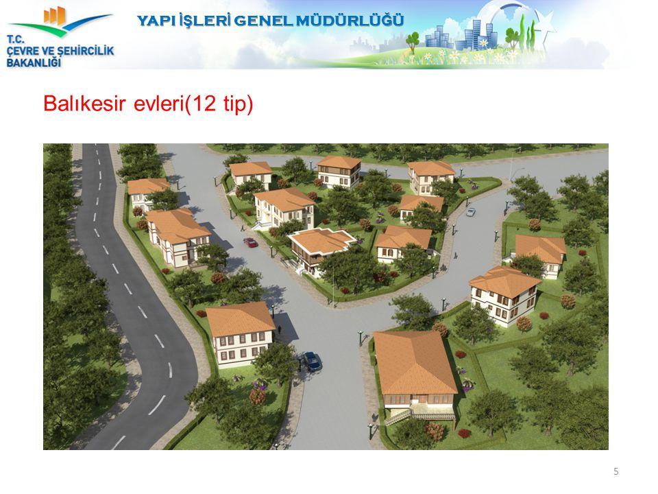 Balıkesir evleri(12 tip) 5