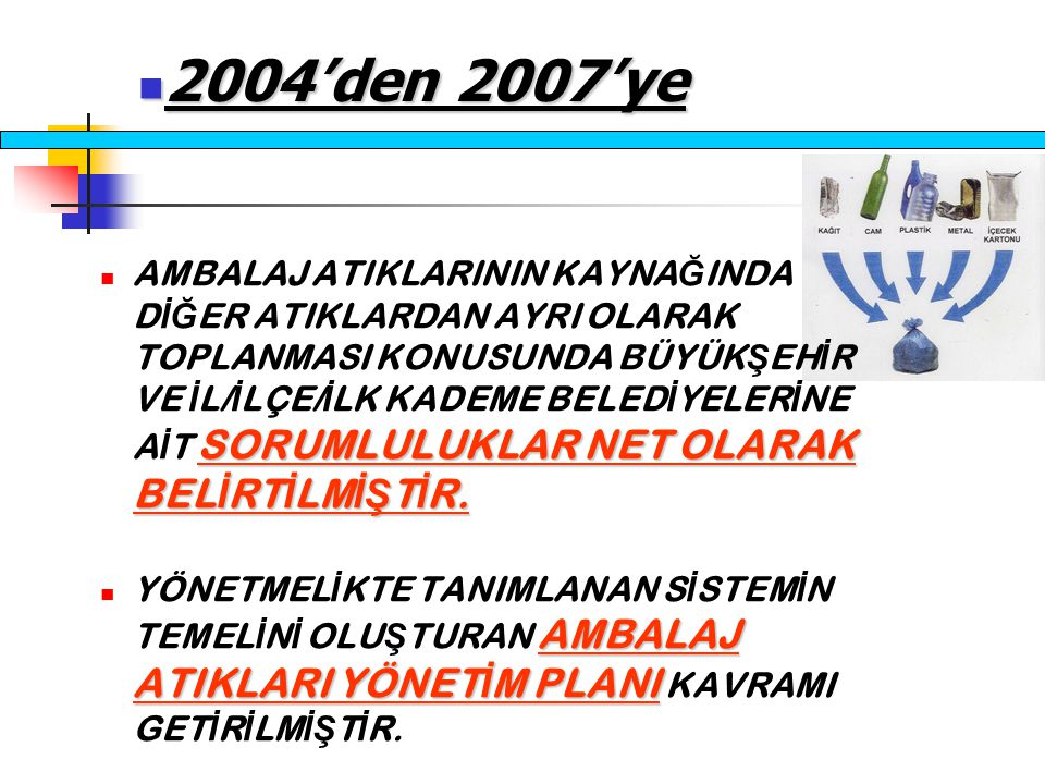SORUMLULUKLAR NET OLARAK BEL İ RT İ LM İŞ T İ R.