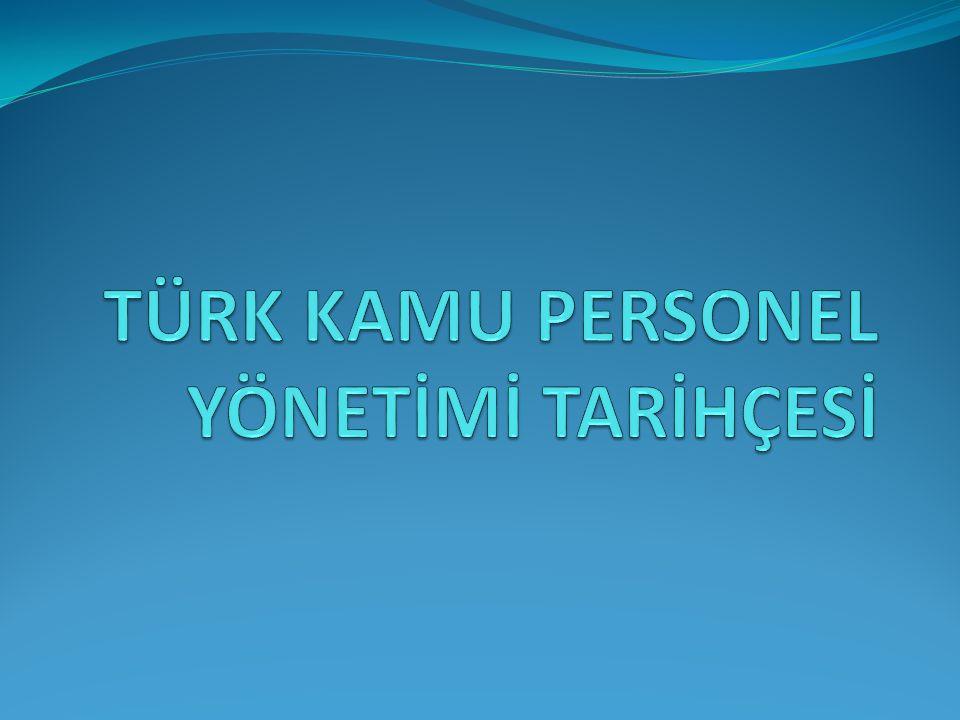 İçindekiler Osmanlı Devleti Dönemi Cumhuriyet Sonrası Dönem - 1923-1960 Arası Dönem - 1960 Sonrası Dönem - Güncel Durum