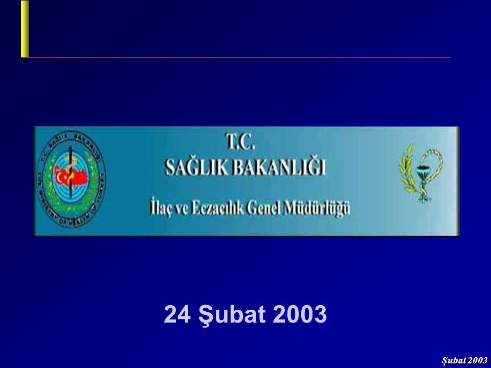 Şubat 2003 22/23 Bütçe Uygulama Talimatı 1/Şubat/2003 tarih, 25011 sayılı R.G.