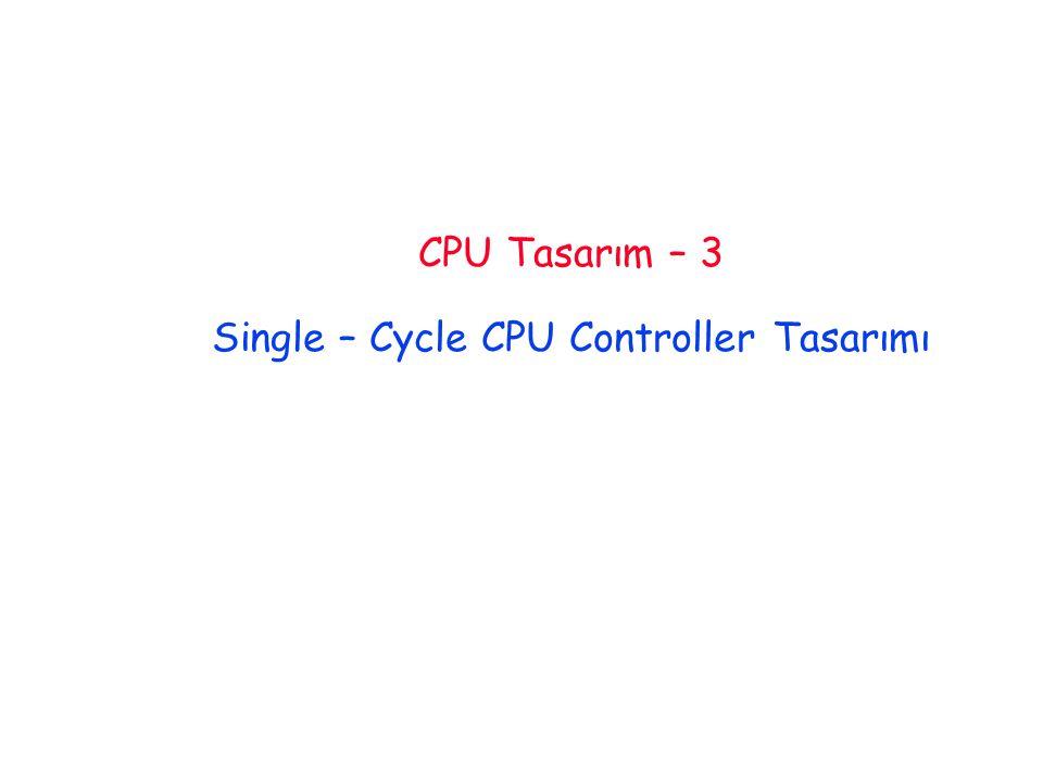 Lec 3.2 Giriş Control Datapath Memory Processor Input Output Bilgisayarı oluşturan beş klasik parça