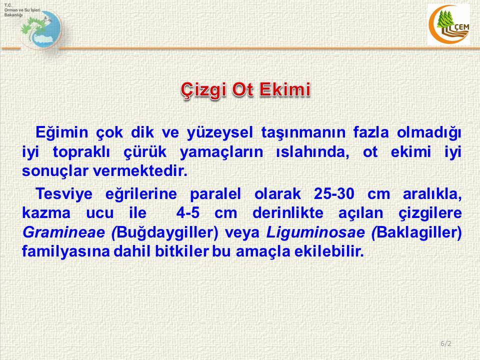 Kafestel Çit YAMAÇ ISLAHI TESİSLERİ