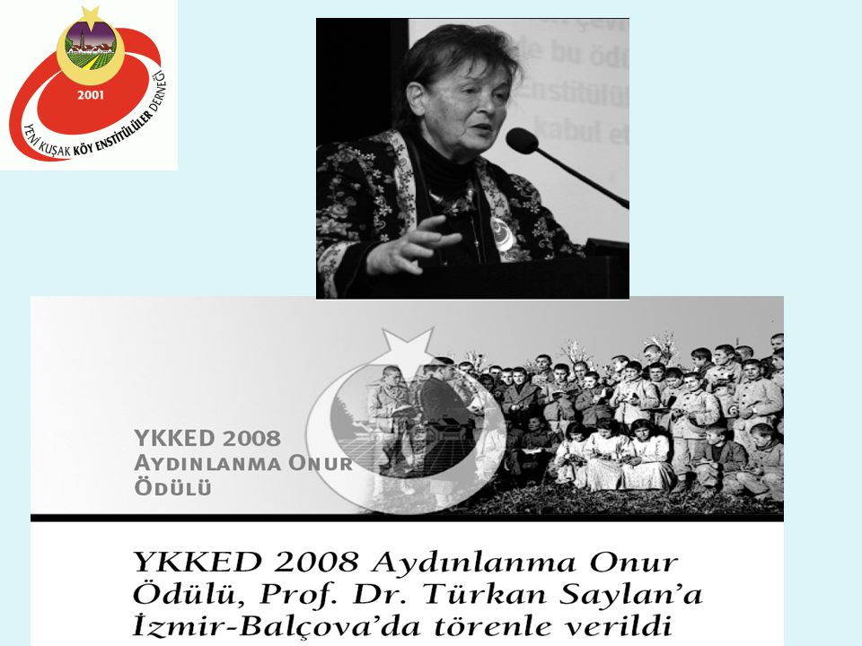 16 Nisan 2008-İZMİR YKKED 6. AYDINLANMA ONUR ÖDÜLÜ Anısına Saygıyla