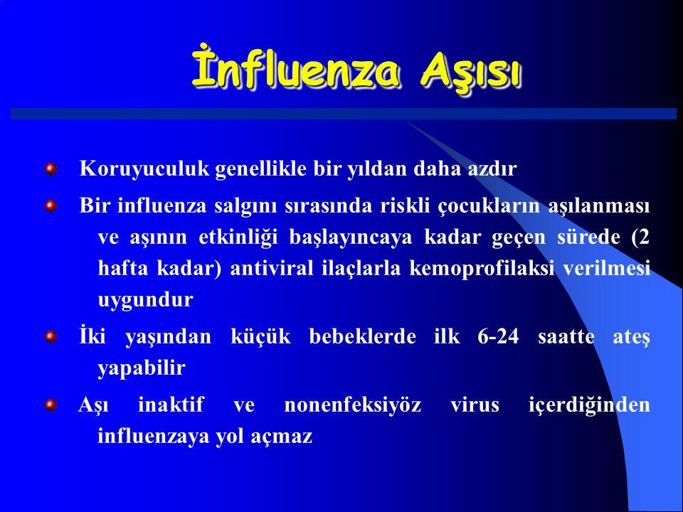 İnfluenza Aşısı Koruyuculuk genellikle bir yıldan daha azdır Bir influenza salgını sırasında riskli çocukların aşılanması ve aşının etkinliği başlayın