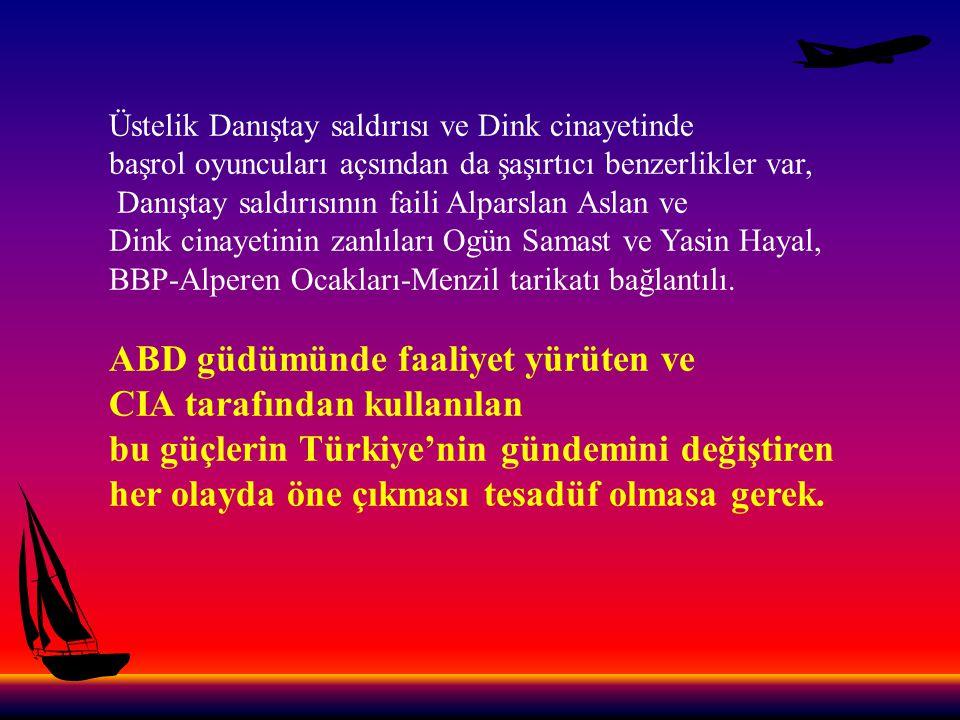 Ancak saldırganların Türk-İslamcı ve tarikatçı kimlikleri es geçirilerek olayın ulusalcı güçlere havale edilmeye çalışılması da yine anlamlı.