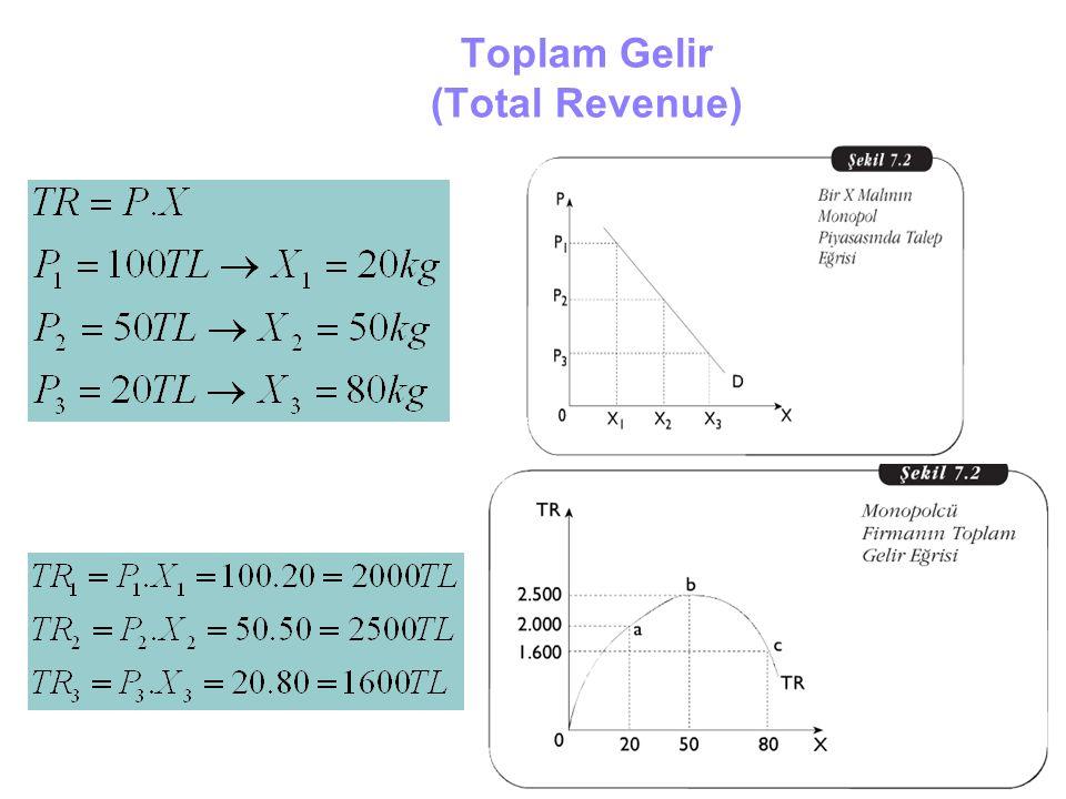 Toplam Gelir (Total Revenue)