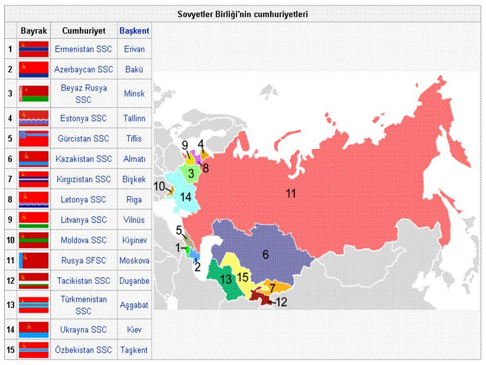 2 EKİM DEVRİMİ VE SOVYETLER BİRLİĞİNİN KURULUŞU Ekim Devrimi (Rusça: Октябрьская революция / Oktyabrskaya revolyutsiya), Çarlık Rusyası nda Jülyen takvimi ne göre 24 Ekim 1917 de, (Miladi takvime göre 7 Kasım 1917) Petrograd daki Kışlık Saray ın Lenin önderliğindeki Bolşeviklerin eline geçmesiyle başlayan ve Sovyetler Birliği nin kurulmasına yol açan olaylar dizisidir.