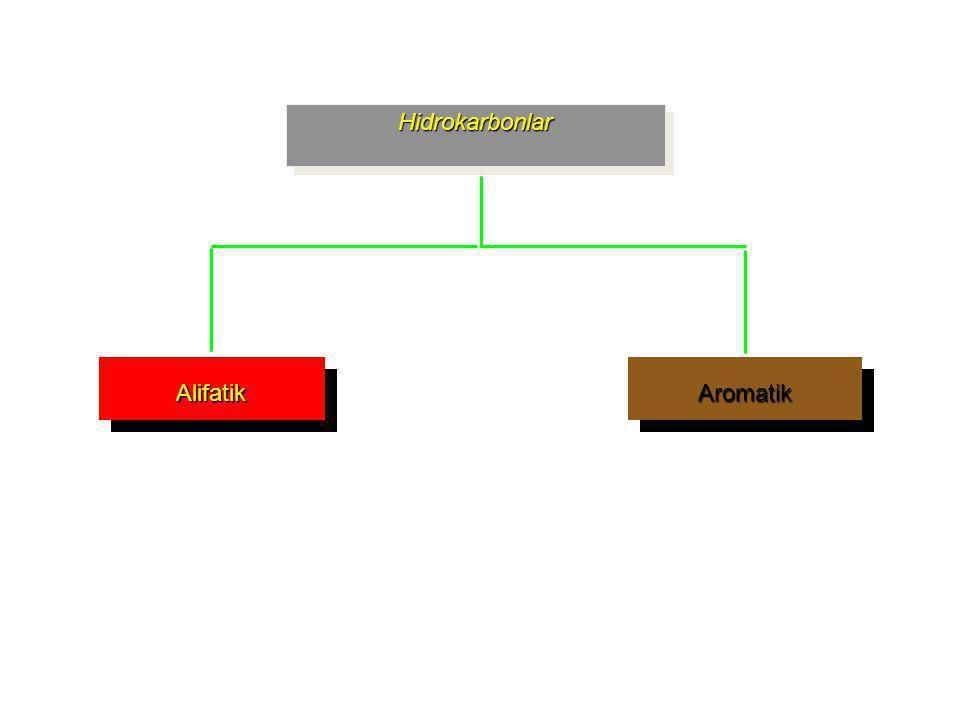 Hidrokarbonlar Aromatik Alifatik