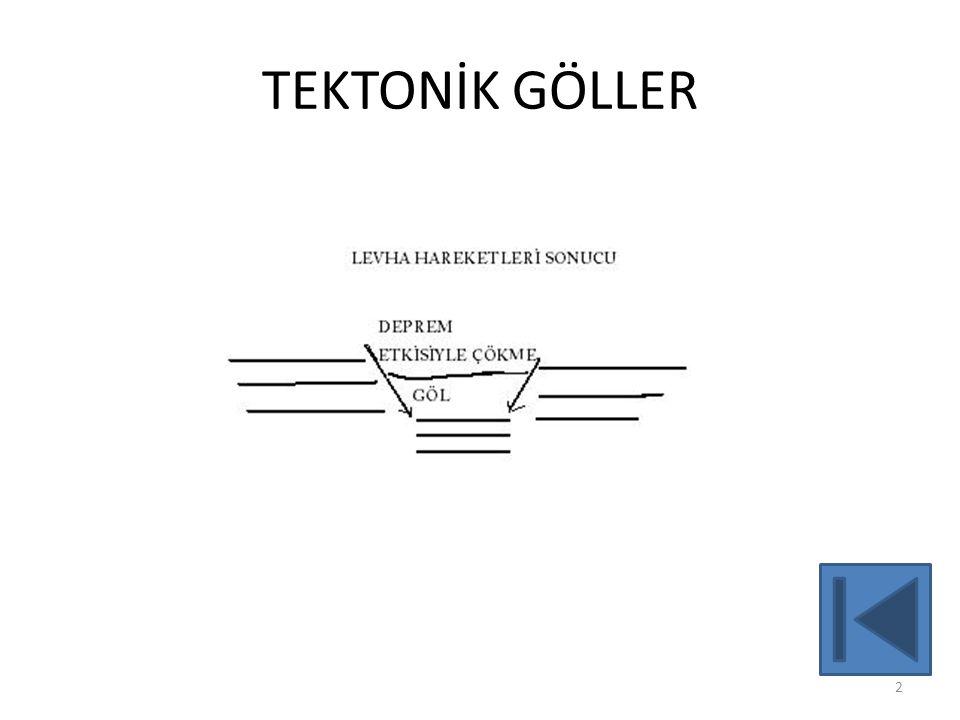 TEKTONİK GÖLLER 2