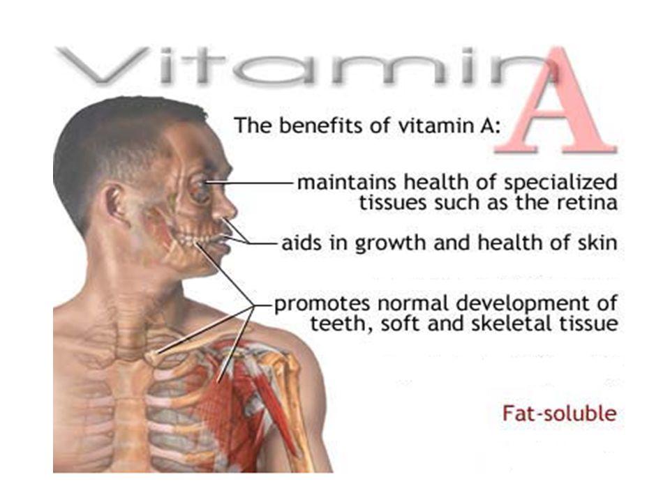 B 6 Vitamini ( Piridoksin ) : Amino asit metabolizmasında rol oynar Bağışıklık sistemi için gereklidir.