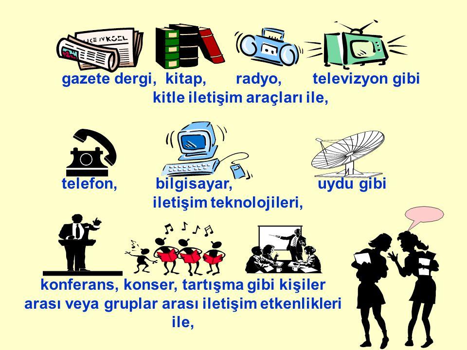 KİŞİLERARASI İLETİŞİMİN SINIFLANDIRILMASI Kişilerarası İletişim Sözlü İletişimSözsüz İletişim Dil Dil ÖtesiYüz ve BedenselMekan Araçlar BedenTemas Kullanımı Niyet edilmişNiyet edilmiş Niyet edilmemişNiyet edilmemiş