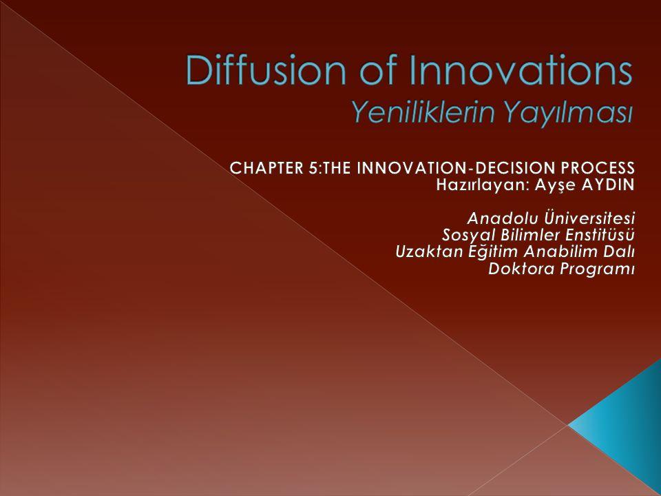  Genelleme 6:Bir yeniliğin erken bilenleri geç bilenlerden daha çok sosyal katılıma sahiptir.