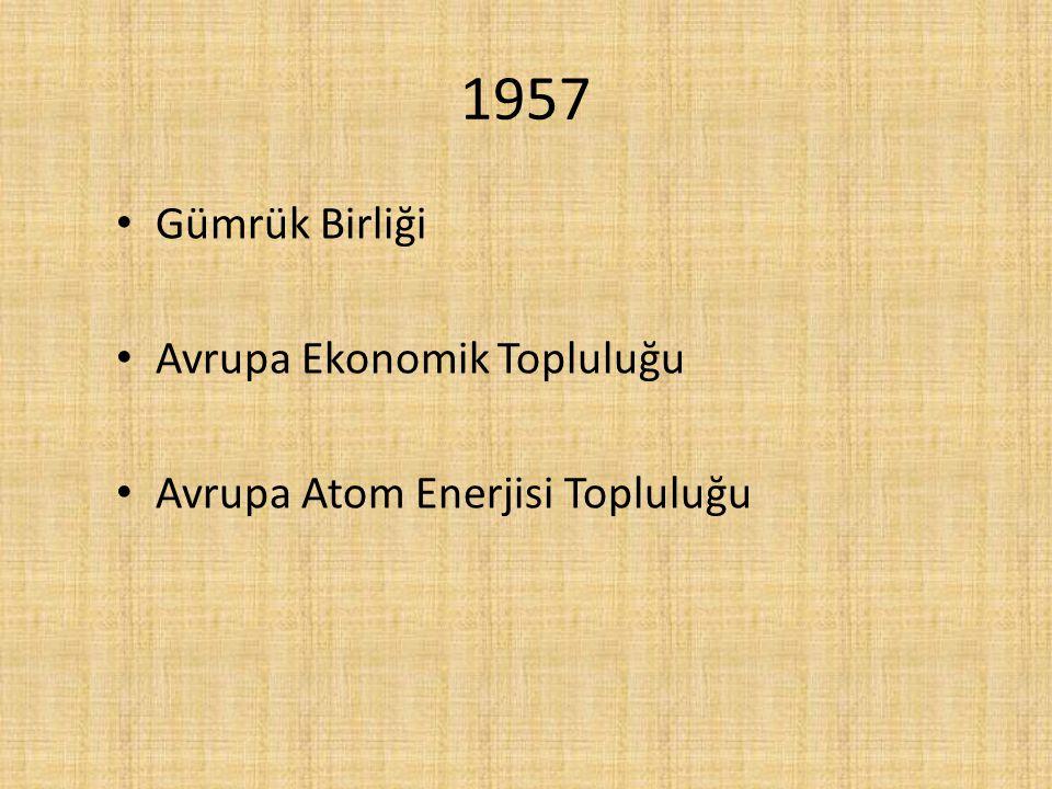 1973 AET güçlendi Uluslararası örgüt olarak kabul gördü Ve yeni ülkeler