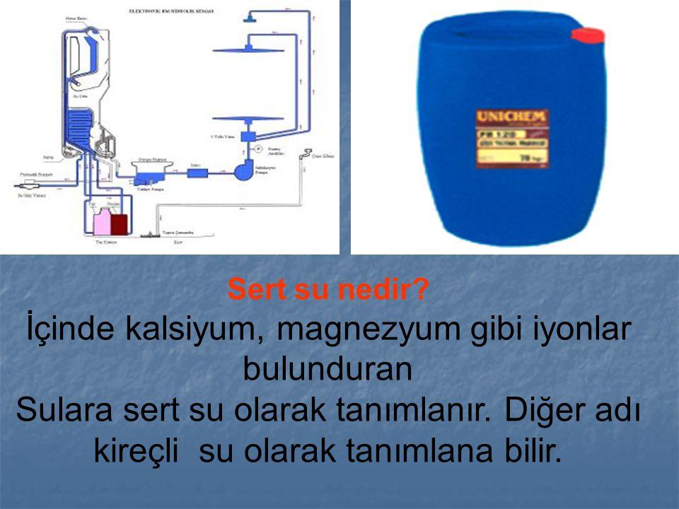 Sert su nedir? İçinde kalsiyum, magnezyum gibi iyonlar bulunduran Sulara sert su olarak tanımlanır. Diğer adı kireçli su olarak tanımlana bilir.