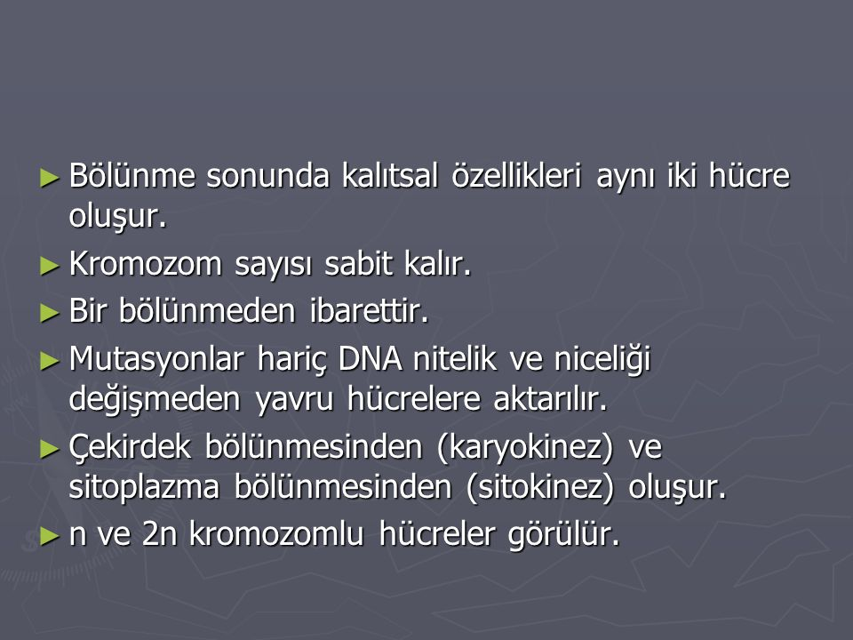 KARYOKİNEZ