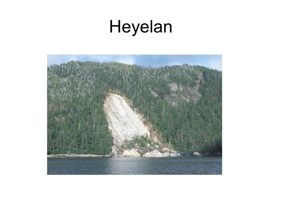 Soru:Heyelanın en fazla yaşandığı bölgemiz hangisidir.